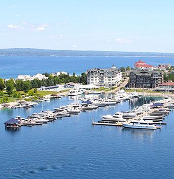 Bay Harbor Michigan Marina Waterfront